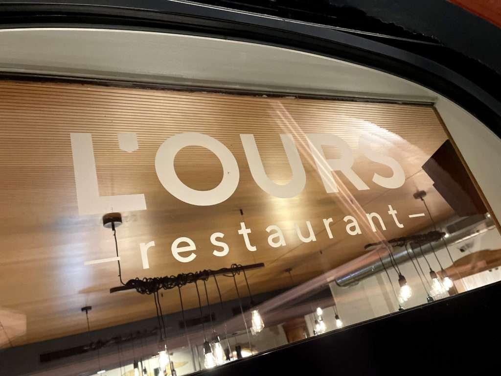 Photo du Restaurant de l'Ours